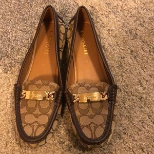 Coach loafers NWOT size 9